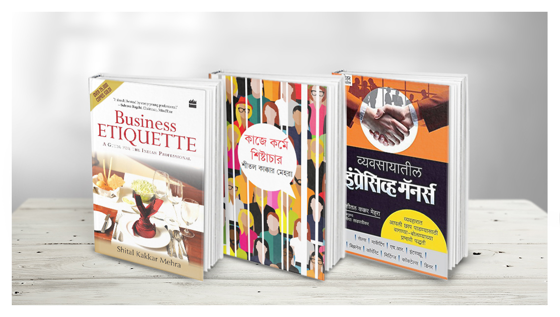Published Books in three different languages